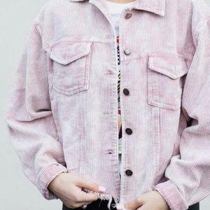 Pink Corduroy Jacket!